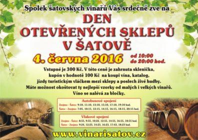 Den otevřených sklepů v Šatově