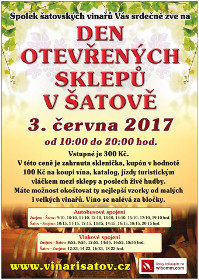 Den otevřených sklepů v Šatově 2017